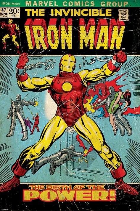 Poster IRON MAN - birth of power