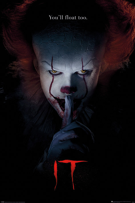 Póster IT - Pennywise Hush