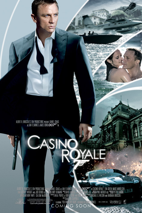 Poster JAMES BOND 007 - casino royale iris