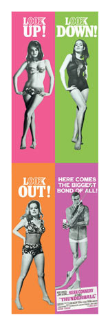 Poster JAMES BOND 007 - thunderball