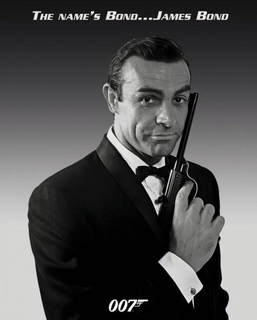 James Bond Sean Connery Poster Plakat 31 Gratis Bei Europosters