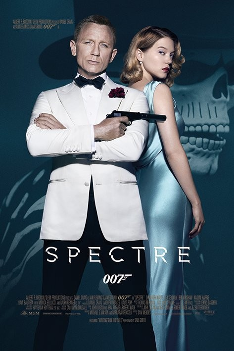 James Bond: Spectre - One Sheet Poster / Kunst Poster