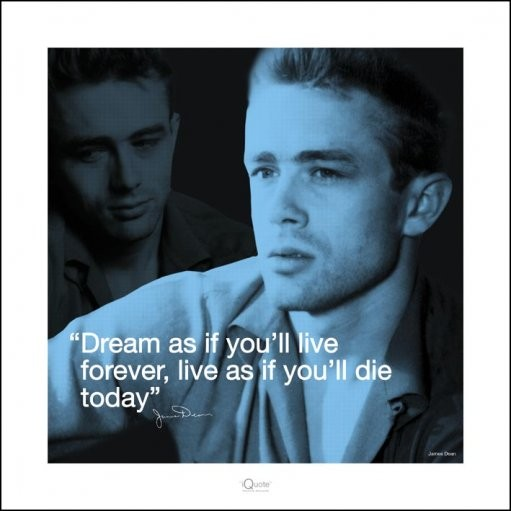 James Dean - i.Quote Kunstdruk