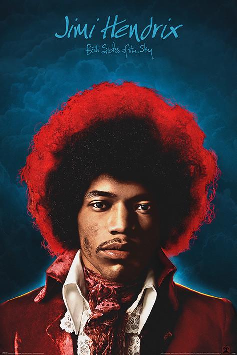 Póster  Jimi Hendrix - Both Sides of the Sky
