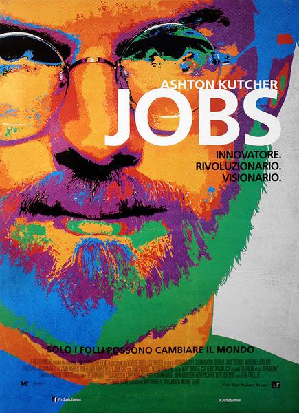 Poster jOBS: Die Erfolgsstory von Steve Jobs - Ashton Kutcher as Steve Jobs
