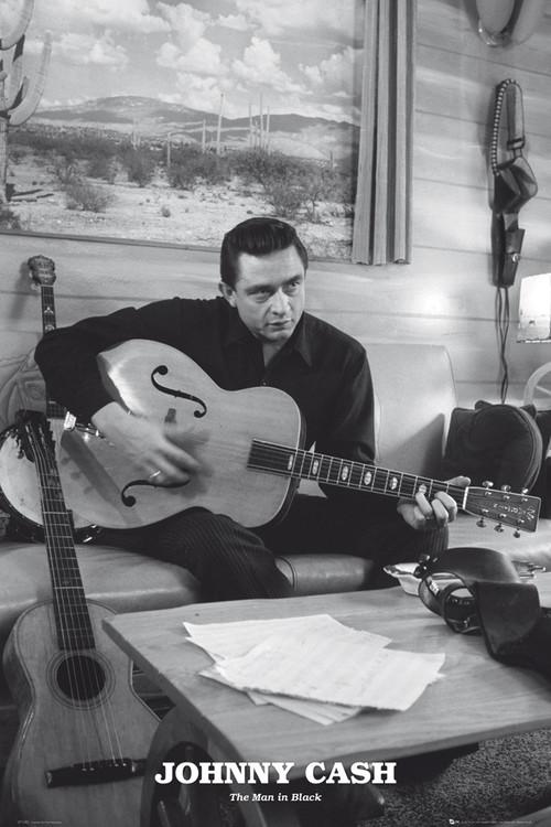 Poster Johnny Cash - man in black