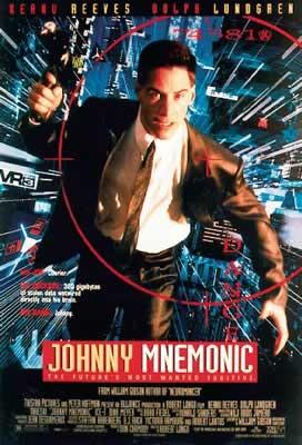 Poster JOHNNY MNEMONIC - VERNETZT - Keanu Reeves