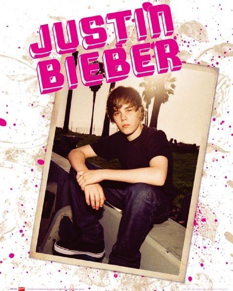Poster Justin Bieber - photo