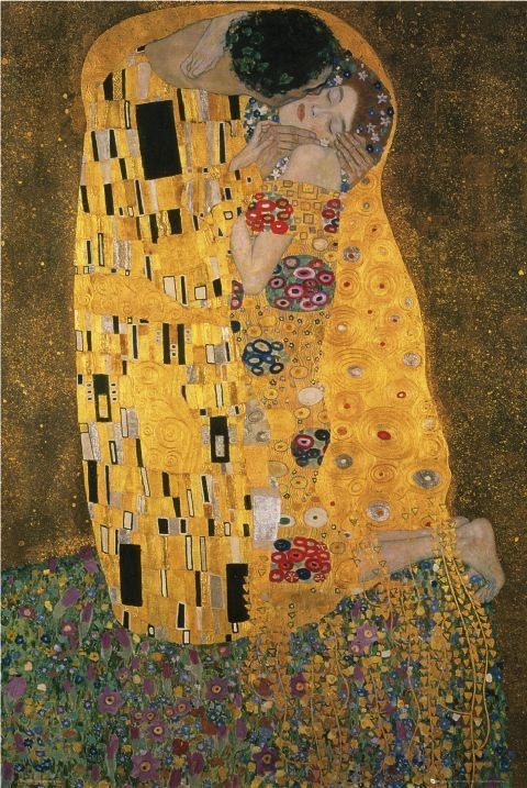 Póster  Klimt - the kiss