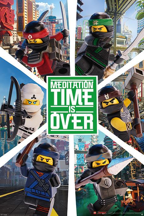 🤩 La Lego Ninjago película - Six Ninjas Póster, Lámina | Compra en ...