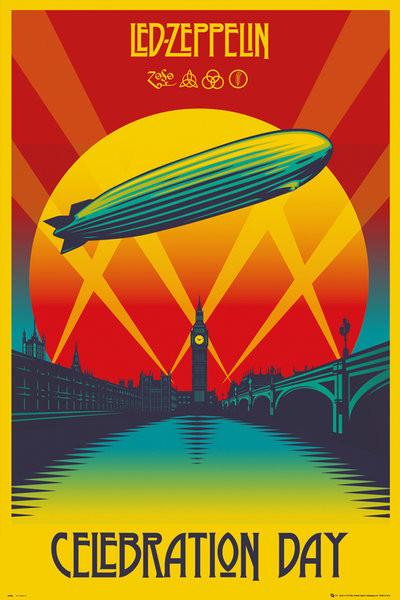 Poster Led Zeppelin - Celebration Day