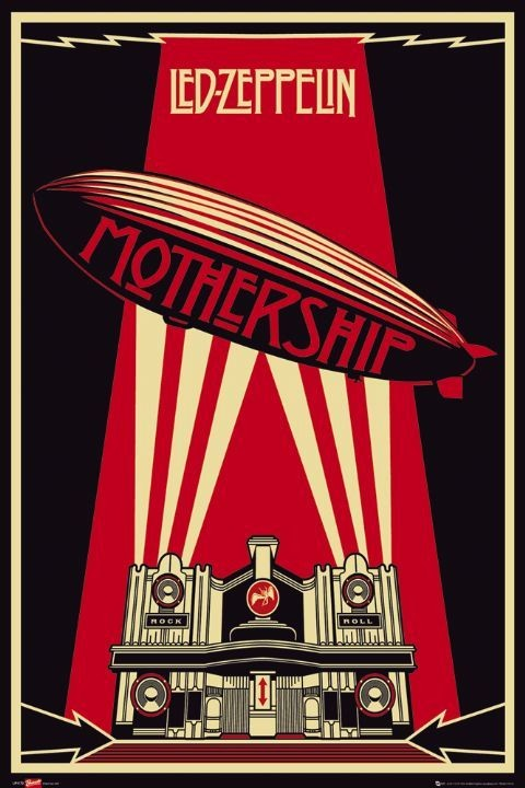 Led Zeppelin - mothership poster, Immagini, Foto