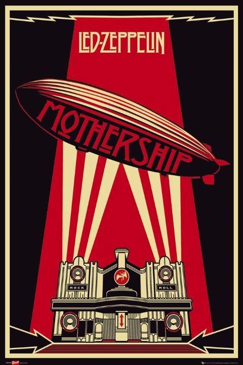 Poster Led Zeppelin - mothership