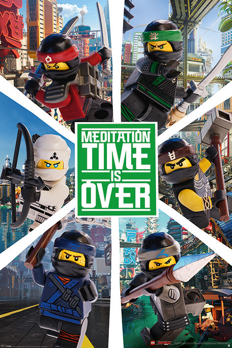 Poster  Lego Ninjago Movie - Six Ninjas