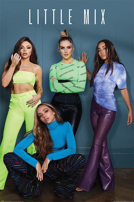 Póster Little Mix - Group