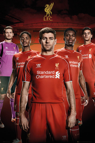 Poster Liverpool FC - Players 14/15