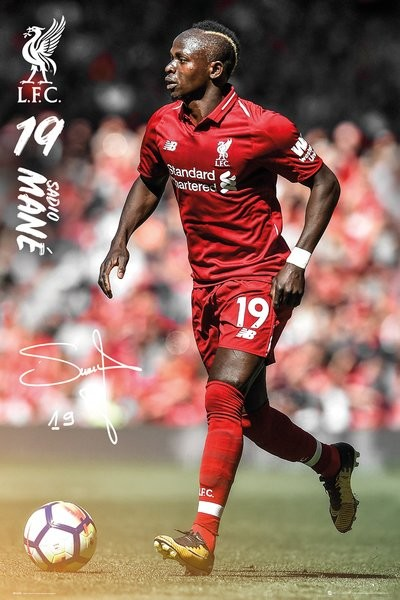 Poster  Liverpool - Mane 18-19
