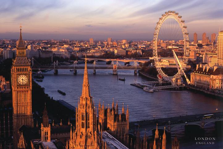 Poster Londra - England