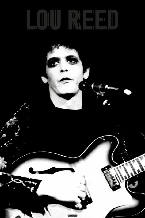 Póster  Lou Reed