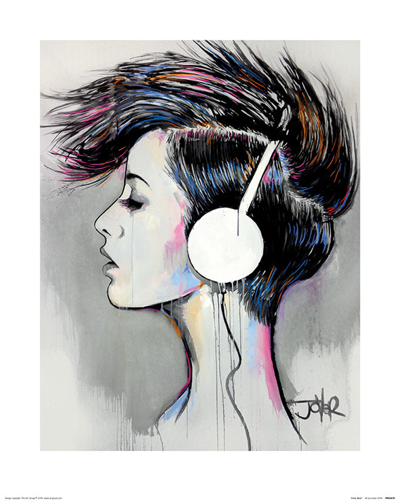 Loui Jover - Inner Beat Kunstdruk