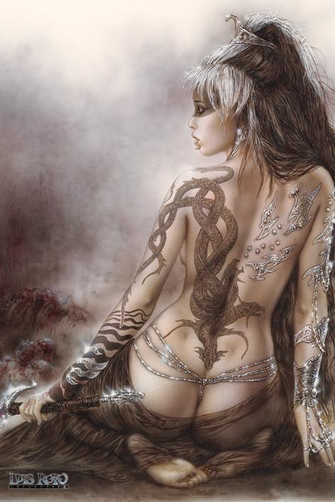 Poster Luis Royo - subversive beauty