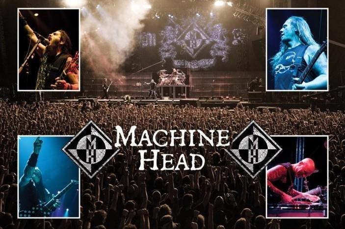 Poster Machine Head - live