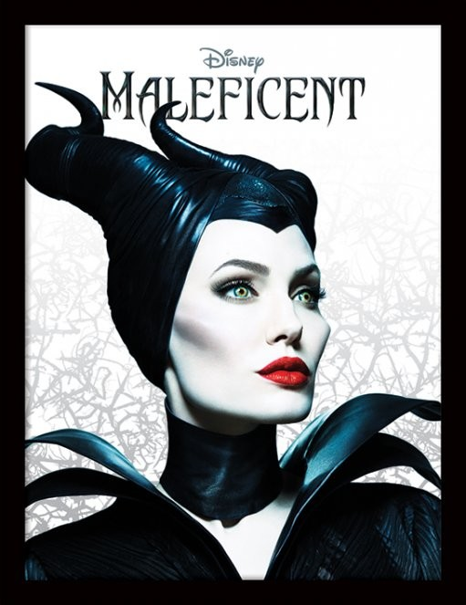 Maleficent - Pose ingelijste poster met glas