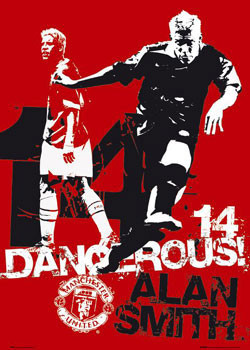 Poster Manchester United - dangerous