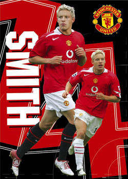 Manchester United - Smith 14 Poster / Kunst Poster
