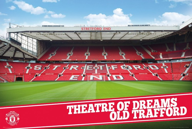 Póster  Manchester United – Stadium 15-16