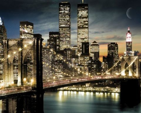 Manhattan lights poster, Immagini, Foto
