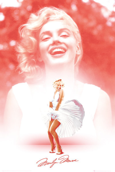 Póster Marilyn Monroe - Pink