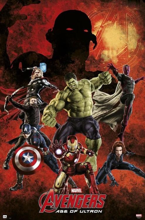 Póster  Marvel - Avengers age of Ultron