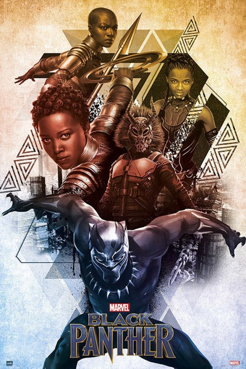 Póster Marvel - Black Panther