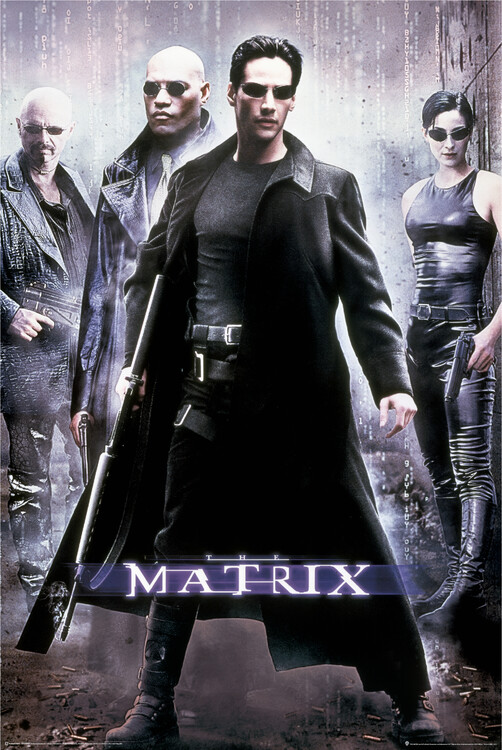 Poster Matrix - Hacker