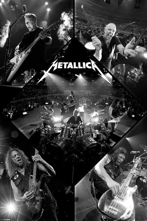 Poster Metallica - live