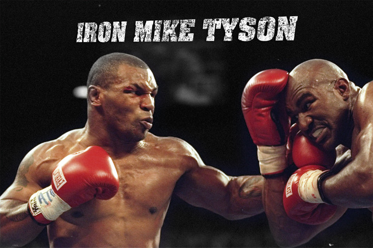 PosterQuadro Su Mike it Tyson Europosters Yf67byvg
