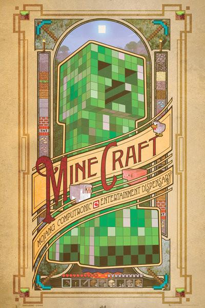 Minecraft - computronic  Poster