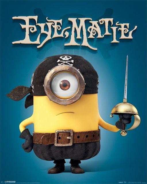 Póster Minions (Gru: Mi villano favorito) - Eye Matie