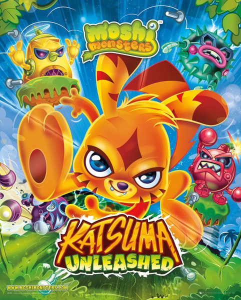 Póster  Moshi monsters - Katsuma Unleashed