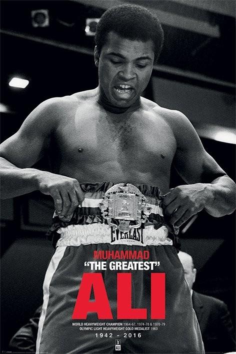 Poster Muhammad Ali - Belt