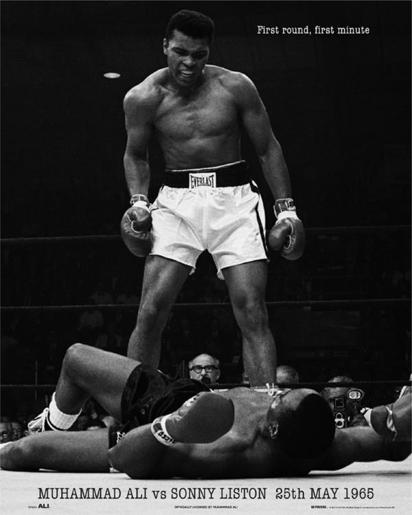 Muhammad Ali vs. Sonny Liston Poster