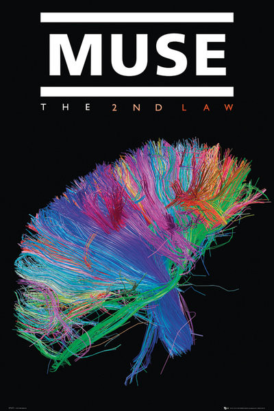 Póster Muse - the 2nd law