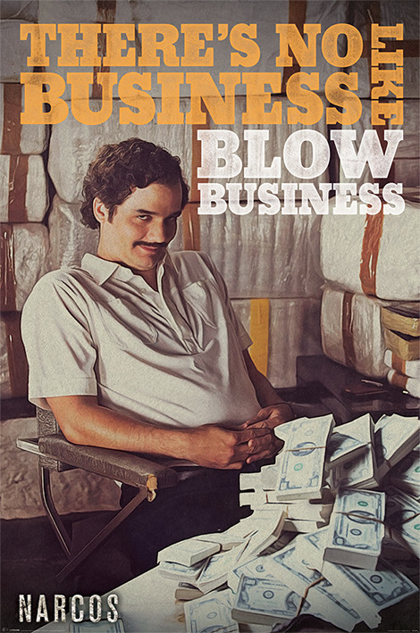 Poster Narcos - No Business