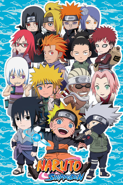 Poster Naruto Shippuden - SD Compilation