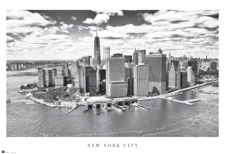 Póster New York City - Airview