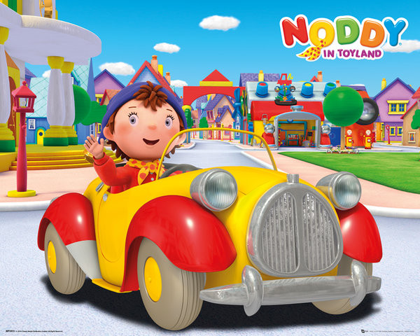 Póster Noddy - Solo
