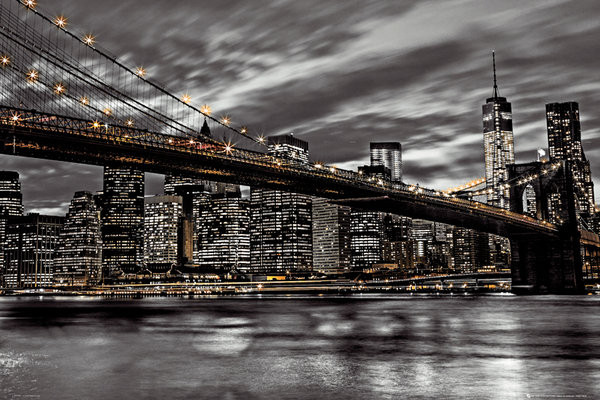 Póster Nueva York - Assaf Fank