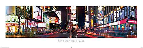 Póster Nueva York - Times square