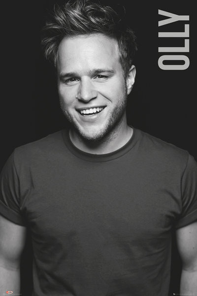 Póster Olly Murs - Black and White